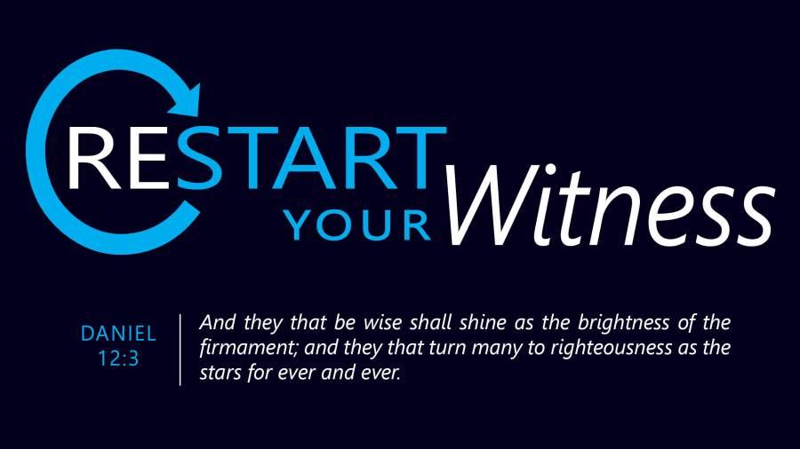 Restart Your Witness